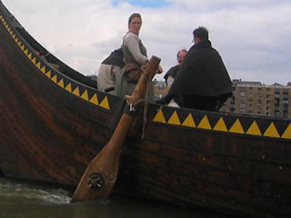 Gaia travels calmly down the Thames