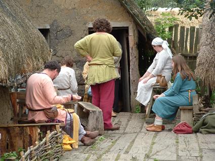 Time for a little village gossip!