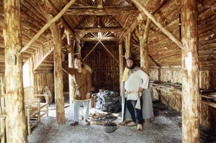 Ragnar in the Blacksmith's house